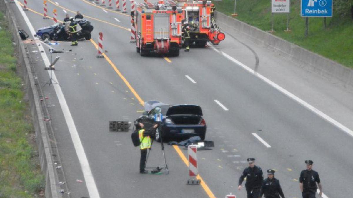 Unfall Auf Der A1 Gestern