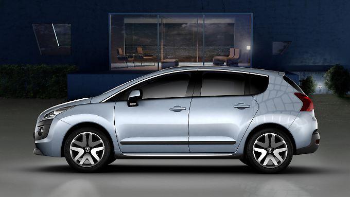 In der Studie Prologue Hybrid4 hat Peugeot den Stand der Technik verbaut. Bis 2011 wollen die Franzosen ein serienreifes Fahrzeug auf den Markt bringen.