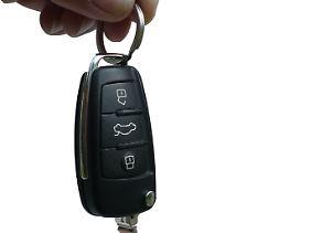 Autoschlüssel sollten vor dem Zugriff Dritter geschützt werden.