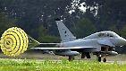 Der Eurofighter ist ein Mehrzweck-Jagdflugzeug, das von Deutschland, Italien, Spanien und Großbritannien entwickelt wurde.