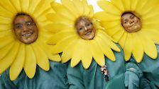 An jedem ersten Sonntag im Mai ist Weltlachtag.
