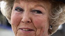 ... doch Zeichen von Müdigkeit lässt die niederländische Monarchin nicht erkennen.