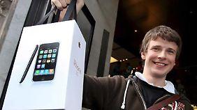 Das iPhone macht auch heute noch viele Markenfans glücklich - wenngleich die Konkurrenz einiges zu bieten hat.