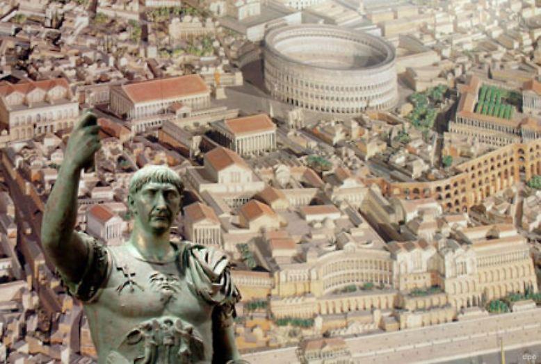 """Der Begriff """"Diktator"""" stammt aus dem alten Rom. Aus dem Lateinischen übersetzt bedeutet er """"der Sprechende"""" oder auch """"der Befehlende"""". In Krisenzeiten wurde im Römischen Reich nach einem starken Mann gesucht. Ein bekannter Diktator war Caesar Nerva Traianus Augustus."""