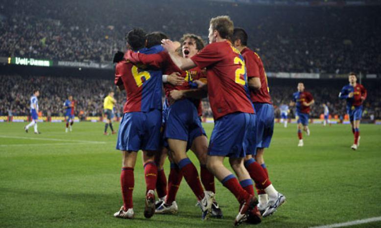 Bis vor kurzem ließen die Fußballer des FC Barcelona ...