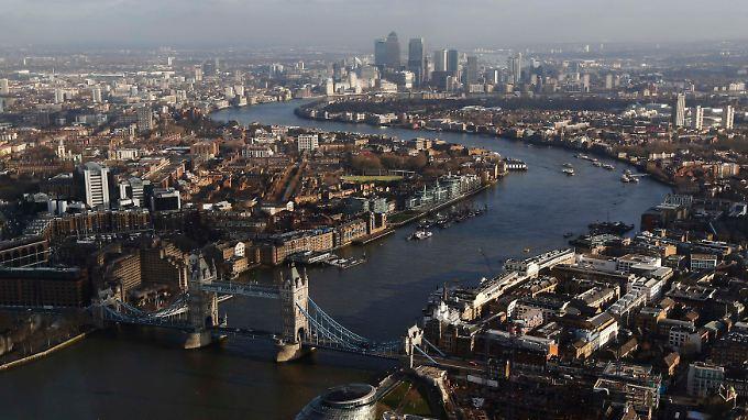 Wo das Geld zu Hause ist: Die meisten Superreichen wohnen in London