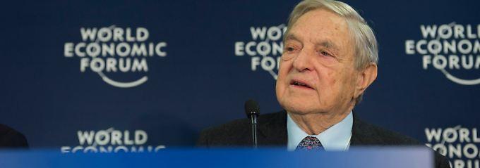 Die Märkte mit Geld überschwemmen: Soros verweist auf das Vorbild der Fed.