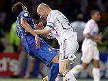 WM-Zeitreise - 9. Juli 2006: Unflätiger Materazzi macht Zidane zum Stier