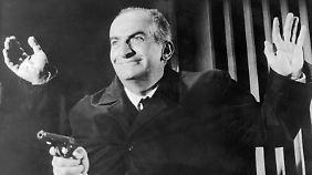 """Louis de Funès auf der Jagd nach """"Fantomas"""" - es war eine seiner bekanntesten Rollen."""