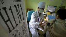 Mit Impfungen sollte die Schweinegrippe weltweit eingedämmt werden.