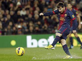 Spaniens Zeitungen gehen inzwischen die Superlative für Messis Torrekorde aus.