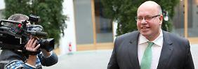 Altmaier will die Umlage zur Förderung erneuerbarer Energien deckeln.