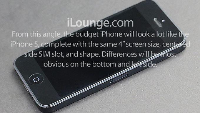 Dieses Bild des angeblichen billigen iPhones wurde auf ilounge.com veröffentlicht.