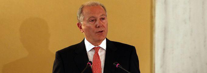 Zuversichtlich: Giorgos Provopoulos.