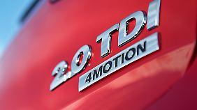 """Lediglich der dezente Schriftzug """"4Motion"""" weist auf die Allradqualitäten hin."""
