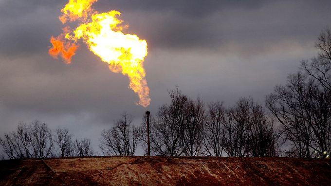 Im Boden der USA lagern Schätzungen zufolge rund 23 Billionen Kubikmeter Schiefergas.