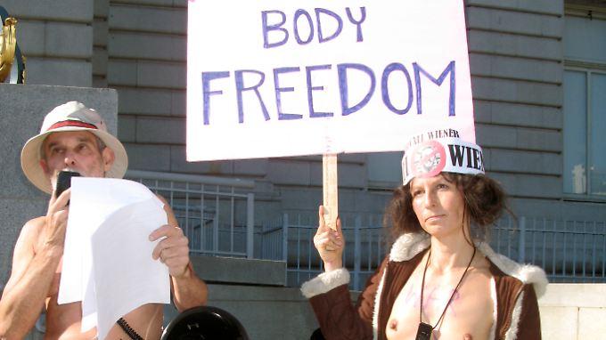 """In San Francisco darf fortan in der Öffentlichkeit niemand mehr """"seine oder ihre Genitalien, Damm- oder Analgegend"""" zur Schau stellen."""