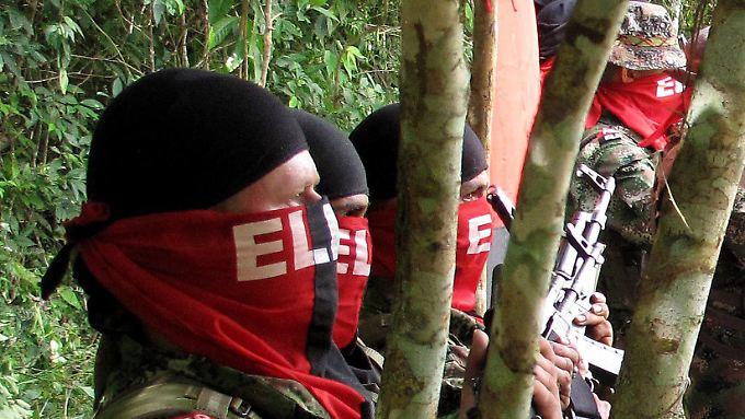 ELN-Rebellen zeichnen für die Entführung zweier deutscher Männer verantwortlich.