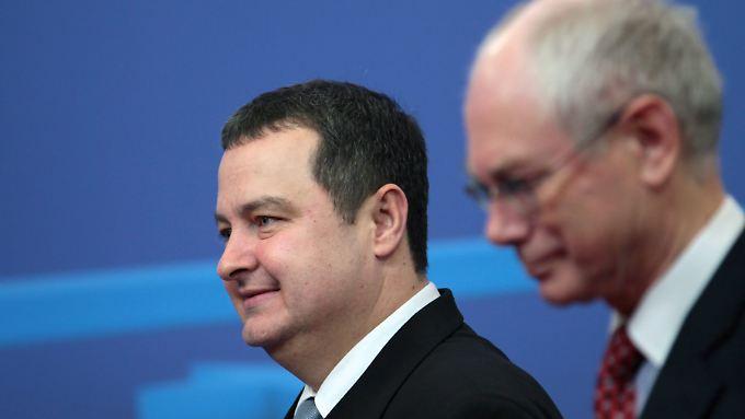 Serbiens Ministerpräsident Dacic liegt viel an einem guten Verhältnis zu Brüssel.