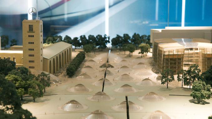 So soll der neue Stuttgarter Hauptbahnhof aussehen.