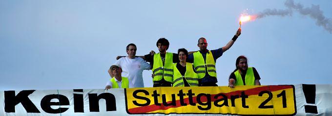 """Erleben die Gegner von """"Stuttgart 21"""" noch einen späten Triumph?"""