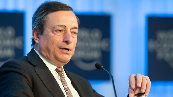 EZB-Chef Draghi drohen kritischen Fragen wegen seiner Rolle im Skandal um die Bank Monte Paschi.