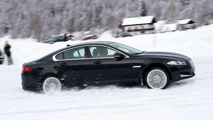 98 Pozent der Jaguar XF-Käufer bevorzugen in Deutschland Dieselmotoren.