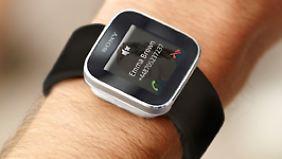 SmartWatch von Sony: Cool aber nutzlos.