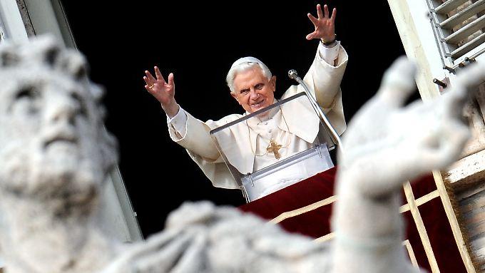 Der Papst im Vatikan.