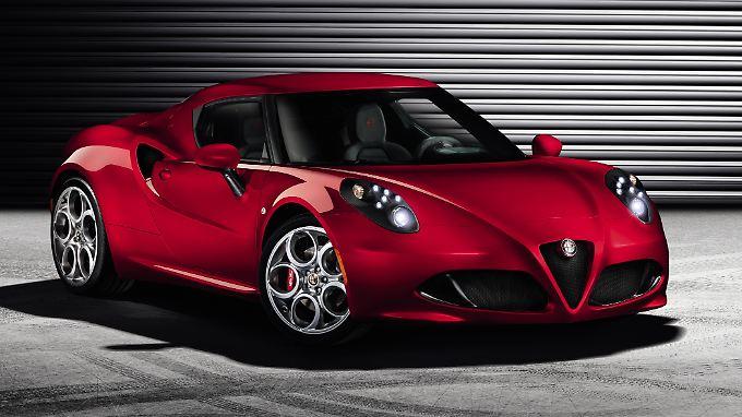 Das zweisitzige Mittelmotor-Coupé 4C lässt Alfa Romeo zu seinen Wurzeln zurückkehren.