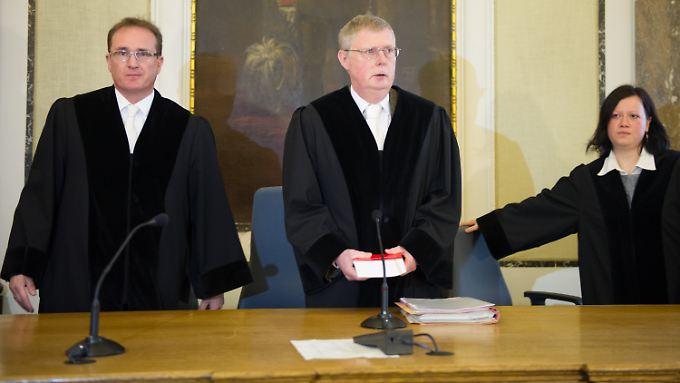 """Die Tat berge """"gewisse Momente der Unfassbarkeit in sich"""", sagte Richter Helmut Kuhs bei der Urteilsverkündung."""
