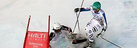 Crashs und Drama bei der Ski-WM: Deutschland erzittert Team-Bronze
