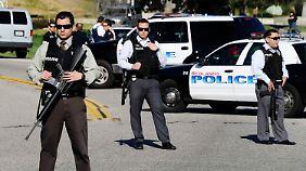 Die Polizei lieferte sich zuvor eine Schießerei mit Dorner, der sich in der Hütte verschanzt hatte.