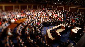 Obamas Rede vor dem Kongress: Investitionen sollen Wirtschaft stärken