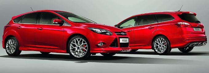 Auf 1000 Stück limitiert: Der Ford Focus Ecoboost S.