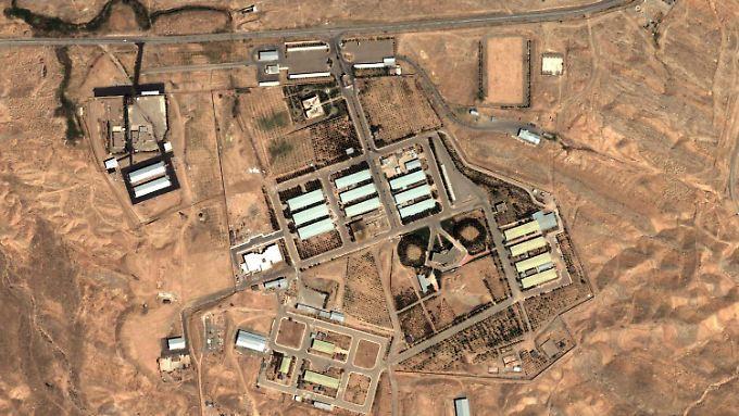 Luftbildaufnahme des Militärkomplexes von Parchin: Die internationale Gemeinschaft vermutet hier Hinweise auf die militärische Dimension des iranischen Atomprogramms.