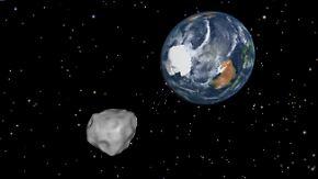 Nasa schließt Kollision aus: Asteroid rast dicht an Erde vorbei