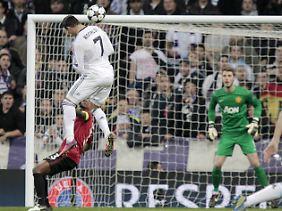 Perfektes Tor: Ronaldo köpft das 1:1.
