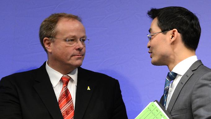 Dirk Niebel wird nachgesagt, er würde gerne Philipp Rösler im Amt des Parteivorsitzenden beerben.