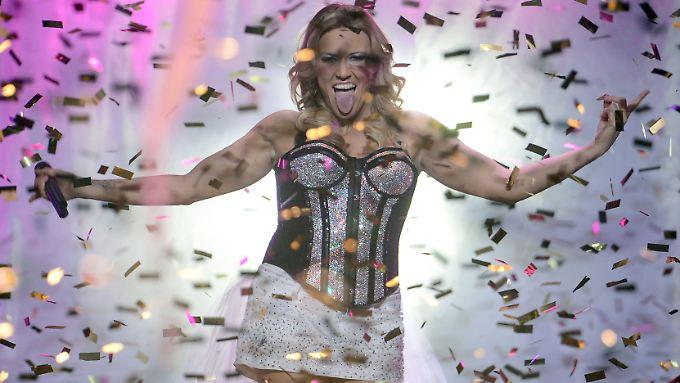 So sehen Sieger aus: Cascada-Sängerin Natalie Horler.