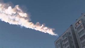 Meteroiten-Explosion über Russland: Gesteinsregen verletzt Hunderte