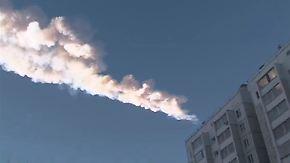 Meteoriten-Explosion über Russland: Gesteinsregen verletzt Hunderte