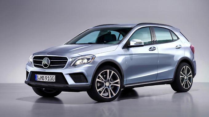 Mit dem GLA holt sich Mercedes auch noch ein Stück vom großen SUV-Kuchen im Kompaktsegment.