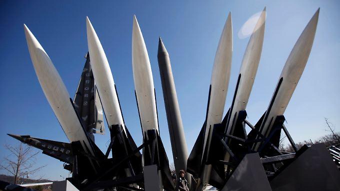 Scud-Raketen in Nordkorea.