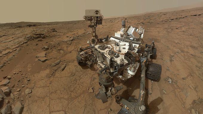 Der Marsroboter hat bereits für einige Überraschungen gesorgt.