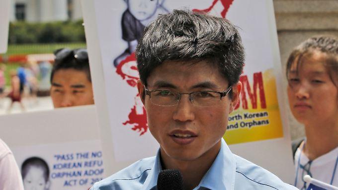 Shin engagiert sich heute für südkoreanische Menschenrechtsgruppen.