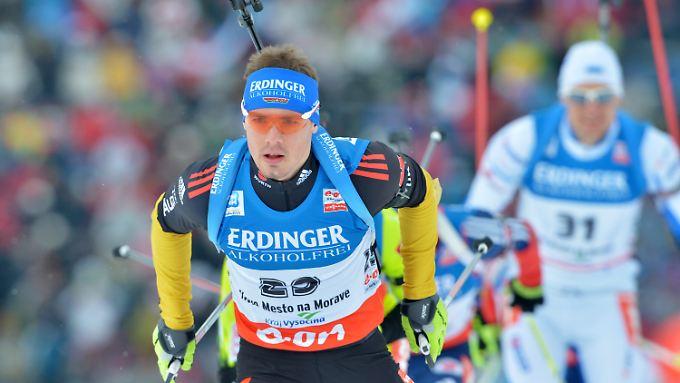 Simon Schempp war einer der bronzenen Biathleten.
