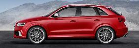 Im Herbst soll der RS Q3, ein kompakter SUV-Kraftprotz, in den Handel kommen.