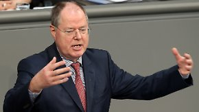 EU-Haushalt: Steinbrück zerpflückt Sparpaket