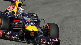 Die Tests in Barcelona geben noch nicht viel Auskunft über das Verhalten der Reifen bei heißen Bedingungen.
